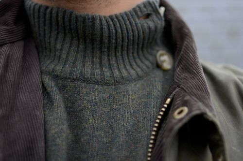 She tugged at his sweater and pulled him closer to her body. He wore this…