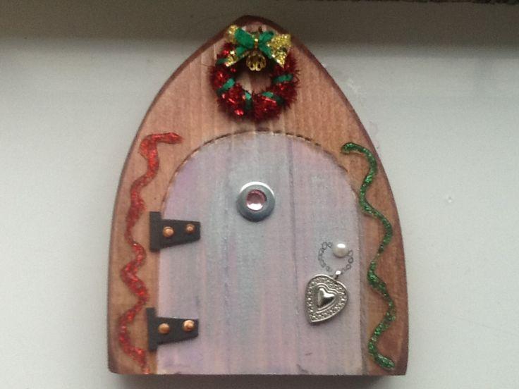 xmas fairy door large £12  https://www.facebook.com/pages/Fairy-Doors/521697827917316