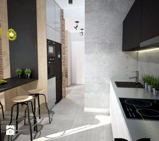 Kuchnia styl Industrialny - zdjęcie od Mart-Design Architektura Wnętrz