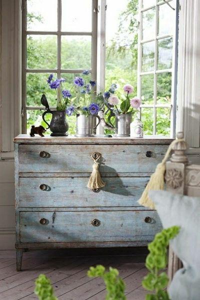 17 mejores ideas sobre muebles envejecidos en pinterest for Pintura decorativa muebles