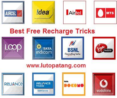 Best 5 Free Recharge Tricks To Earn Unlimited Talktime