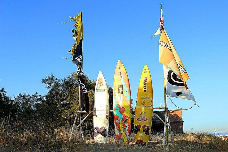 Paros windsurfing