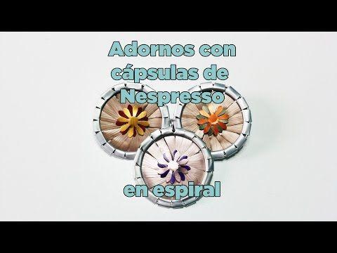 Adorno en espiral con cápsulas de Nespresso. (Eng subs) - YouTube