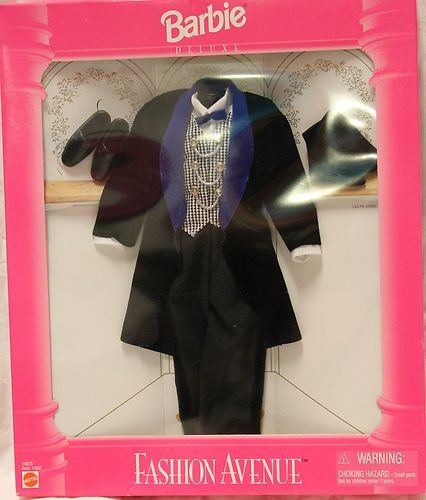 Barbie Fashion Avenue Ken Matel Formal Wedding Tuxedo New RARE | eBay