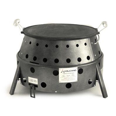 """Volcano Grills 14"""" Reversible Skillet Griddle"""