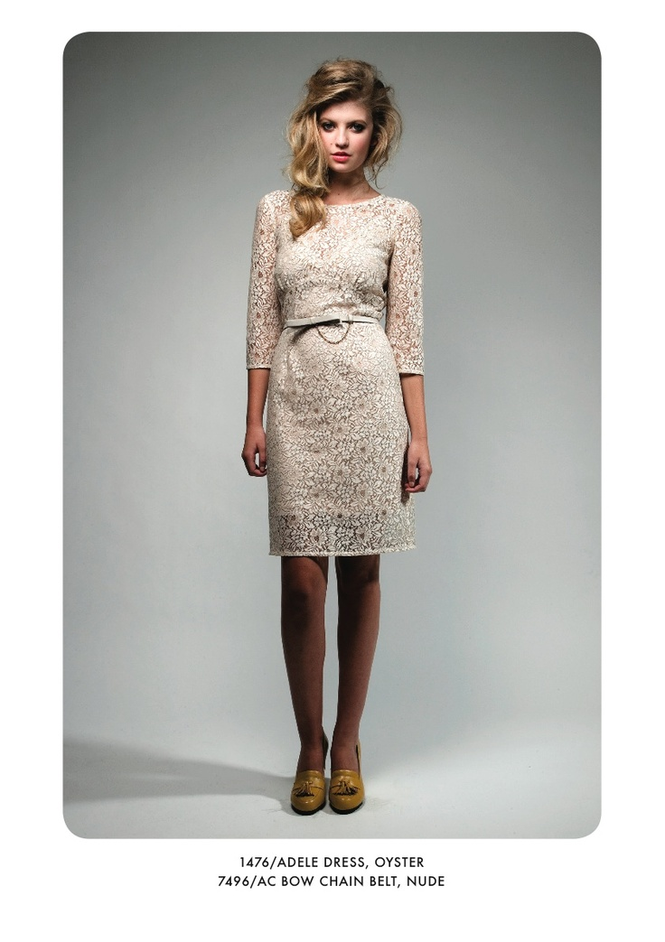 New Zeal8nd Fashion  Adele dress and Bow chain belt from Juliette Hogan's Spring/Summer 2012 collection.