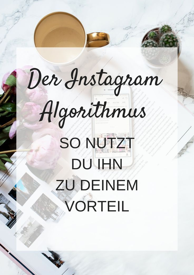 Der Instagram Algorithmus und wie du ihn zu deinem Vorteil nutzt