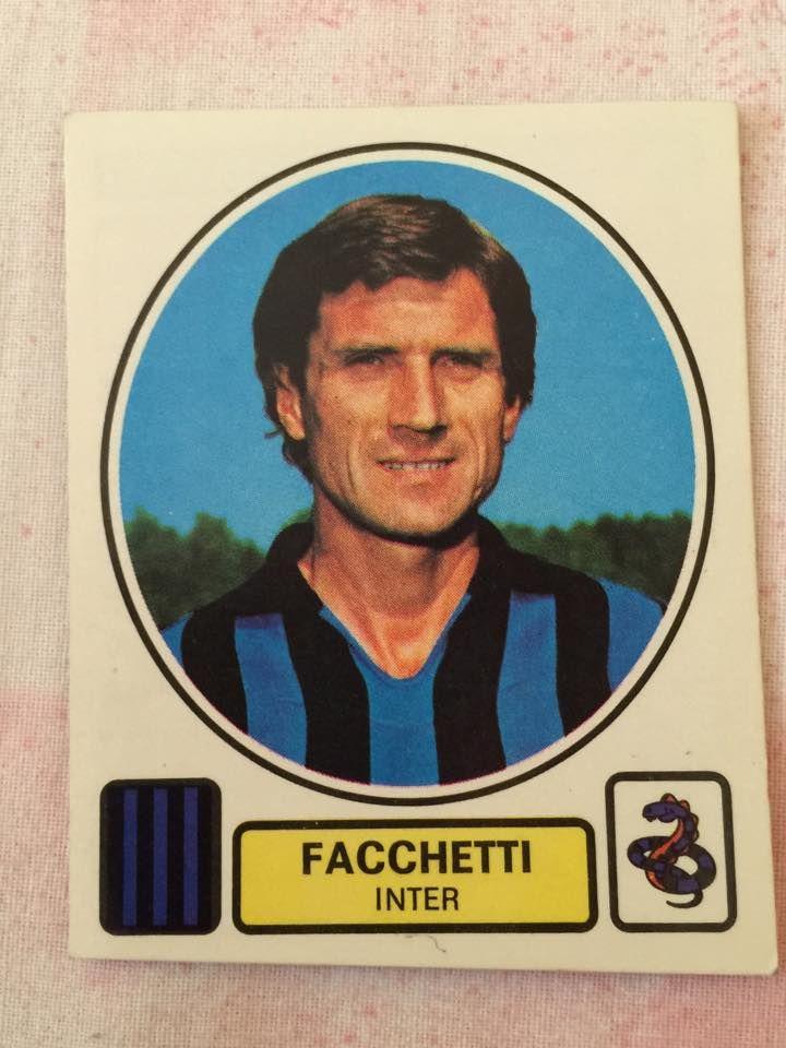Giacinto Facchetti  Figurina Album Panini: 1977/78   www.bauscia.it