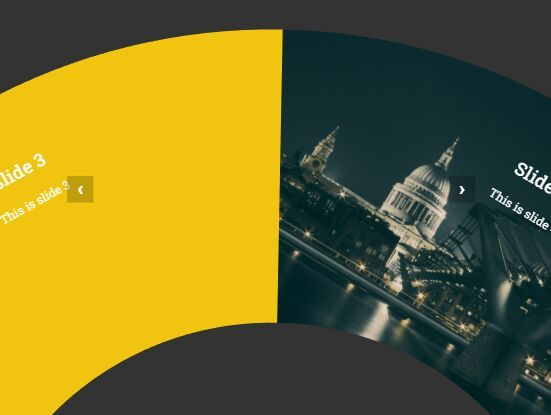 A fancy jQuery plugin for creating a responsive, mobile-friendly, circular rotator where the users are able to rotate through slides with mouse drag and touch swipe. #jquery #slider