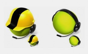Création d'icônes 3D et design d'applications