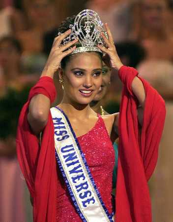Lara Dutta Bhupathi (born 16 April 1978) is an Indian Bollywood actress who was crowned Miss Universe 2000.