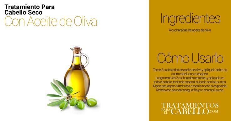 Masaje Capilar con Aceite de Oliva | Los Mejores 20 Tratamientos Caseros Para El Cabello Seco