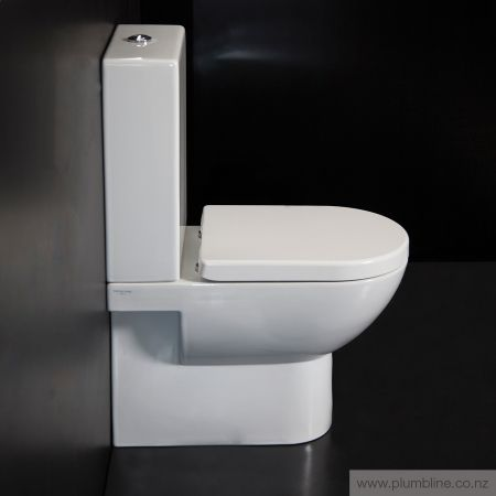 Sfera 63 Back To Wall Toilet Suite With Standard Seat - Toilets & Bidets…