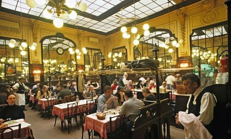 Chartier, probably Paris's most famous budget restaurant, opened in 1896. Photograph: Alamy