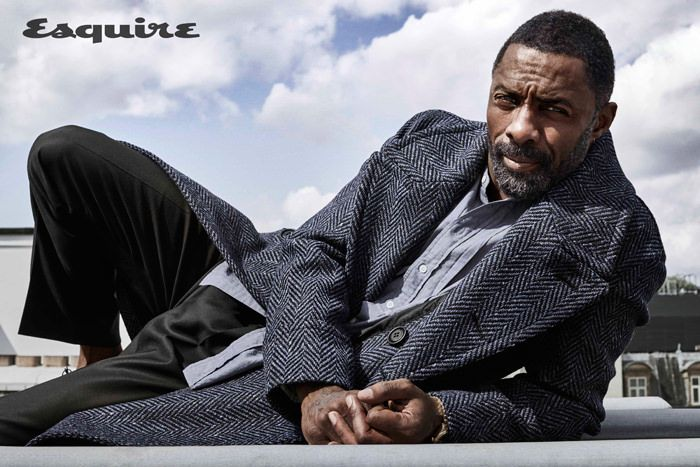 """Idris Elba covers the August 2017 issue of Esquire magazine photographed by Victor Demarchelier.  When Elba found out he'd be playing """"The Wire'""""s St"""