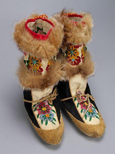 Mukluks. Canada, Inuit