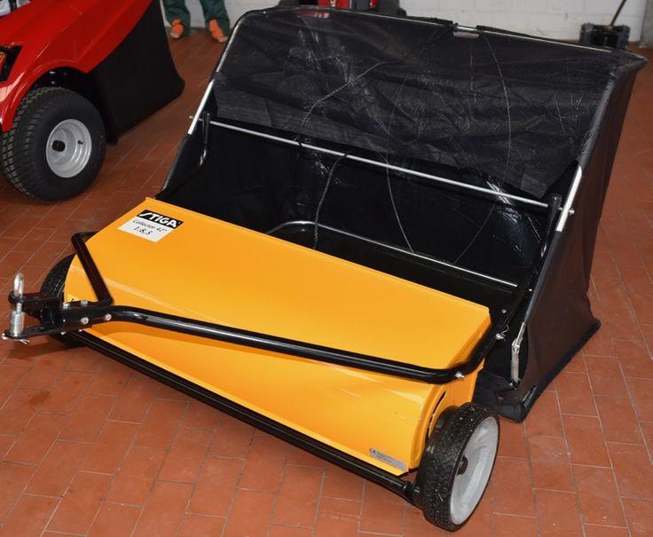 STIGA Collector 42″ Rasen- und Laubkehrmaschine