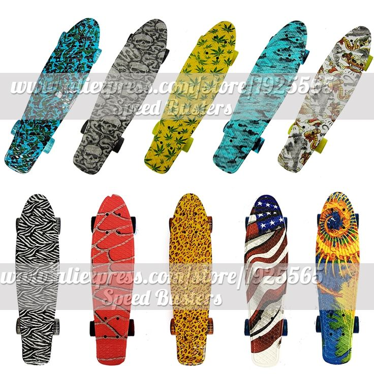 """42.90$  Watch now - http://ai8tl.worlditems.win/all/product.php?id=32662723096 - """"peny skate board deck mini longboard combo sale 22"""""""" Mini skate trucks professional fish scooters for kids with free shipping"""""""