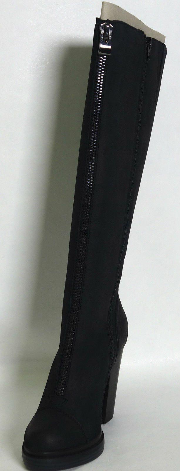 Bronx BX 566 Damen Langschaft Stiefel Schuhe Gr.39 UK 6 Schwarz | eBay