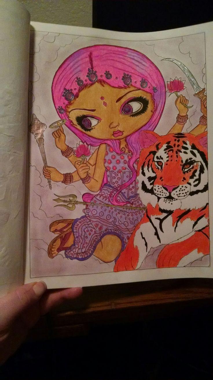 8 mejores imágenes de Jasmine Becket-Griffith coloring book en ...