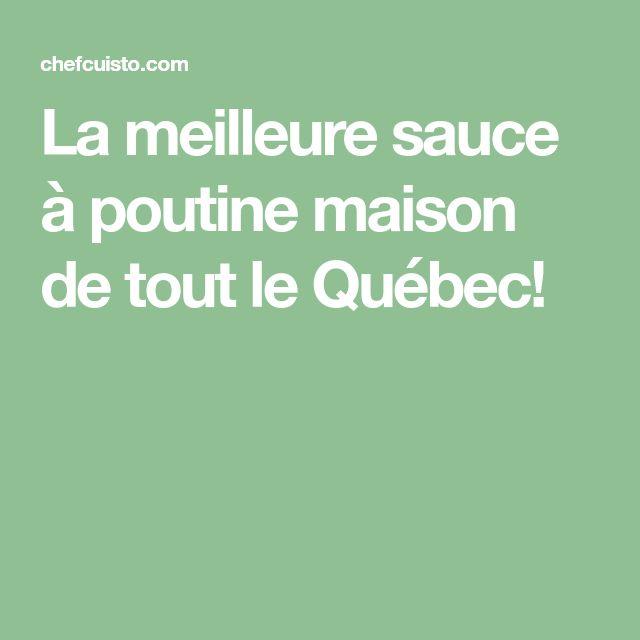 La meilleure sauce à poutine maison de tout le Québec!