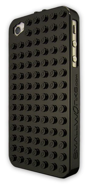 LEGO® compatible BrickCase in Black Overview Show off your mad building skills with the coolest iPhone4/4S case ever! This LEGO compatible hard case protects and let's you customize your iPhone 4 or 4