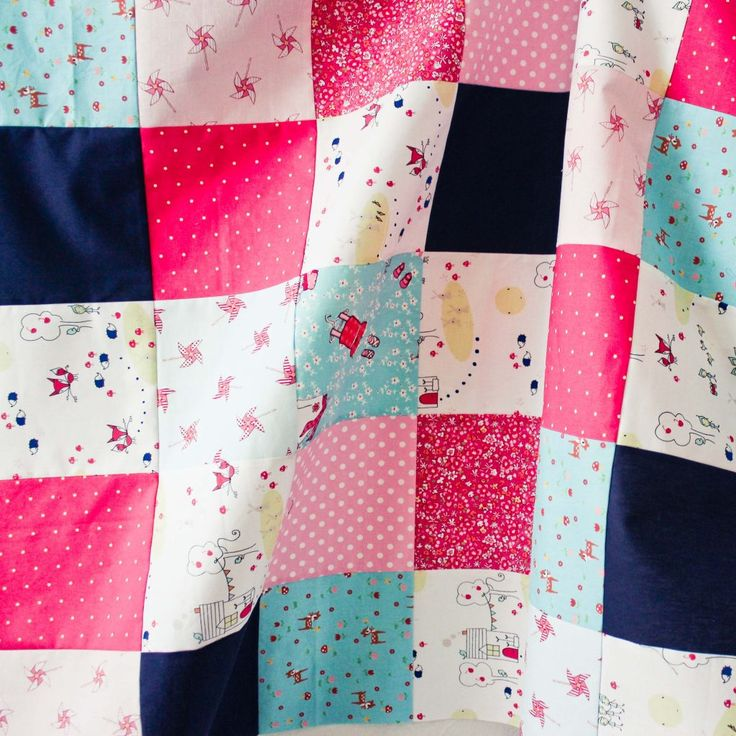Square quilts Three WIP Quilting baby quilt cosmo cricket fabric cotton and steel lecien fabric october afternoon fabric print shop fabric riley blake fabric sarah jane fabric squarequilts wip
