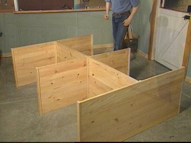 how to construct a queen size platform bed archive home garden television - High Platform Bed Frame