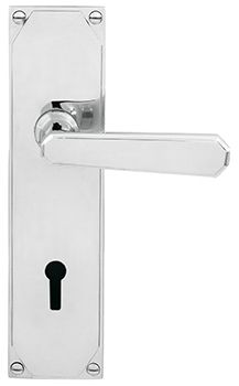 Door Lever Art Deco 205*50mm