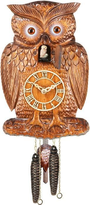 Owl Coo Coo Clock. Love it! Only $329.95