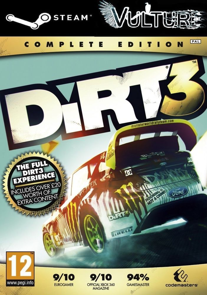 Details about DiRT 3 Complete Edition Steam Key(PC/MAC