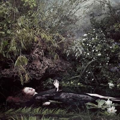 ミハラヤスヒロ、インタラクティブアート作品「夢見るオフィーリア」公開
