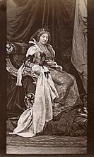 Hanfstaengl, Franz: Studio portraits participants of a costume ball