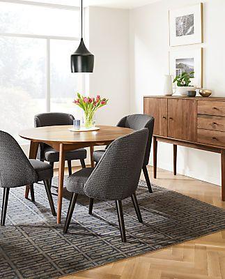 Cora Custom Dining Chair - Modern Custom Dining Chairs & Stools - Modern…
