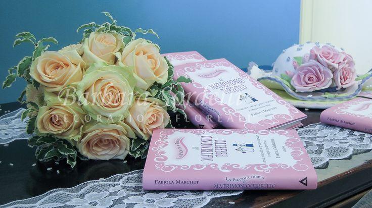 Bouquet di ROSE Avalanche alla presentazione del libro: La piccola Bibbia del matrimonio perfetto