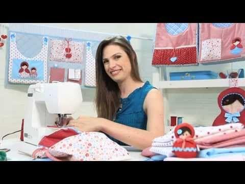 Curso online de Enxovais para bebês: bolsões porta-fraldas | eduK.com.br - YouTube