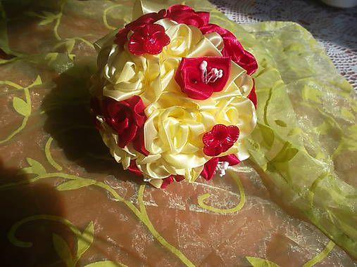 MelinetDecorCrochet / Gratulačná kytica
