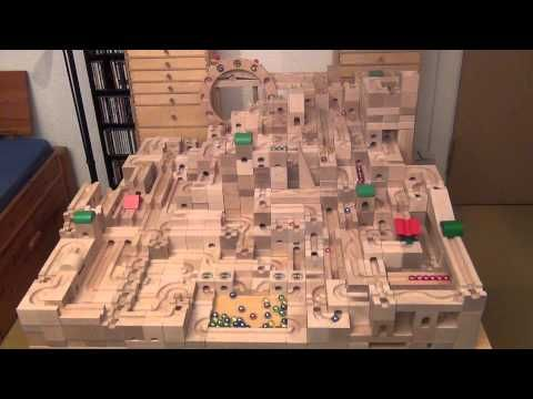 1000 Subs Special: Marble Run 1000 Marbles Mosaic - YouTube