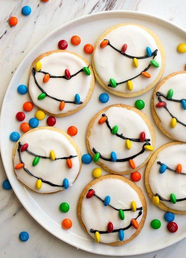 Weihnachtskekse für den Weihnachtsmann!