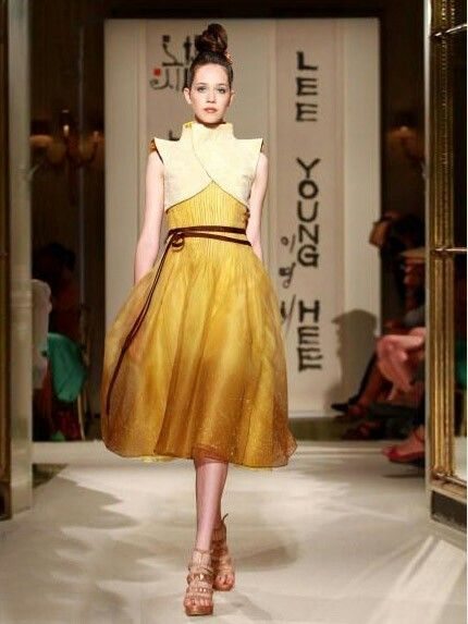 Modern hanbok by Lee Young-hee