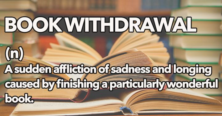 Book Withdrawal: I am a chronic sufferer!