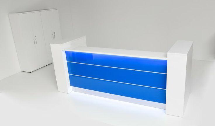 Blue Valde # reception desk