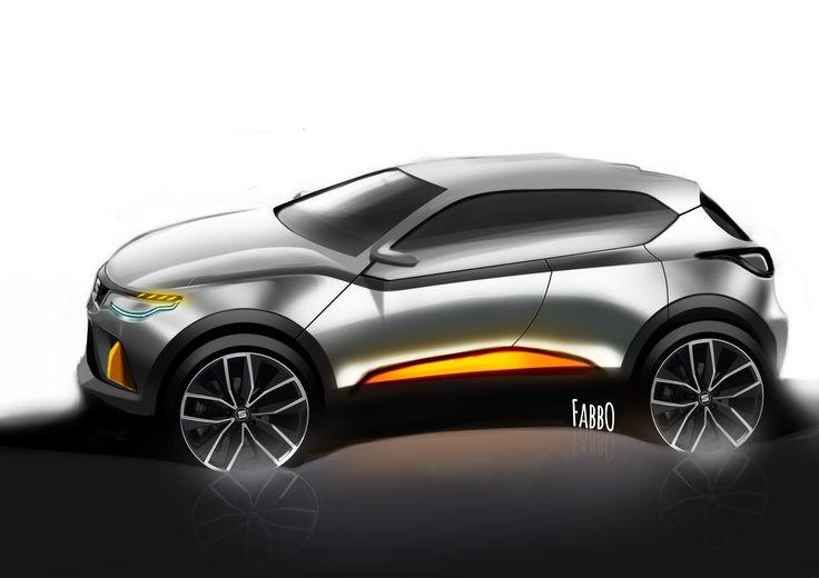 c segment SUV #seat #design #sketch #fabbo #fabiodesumma