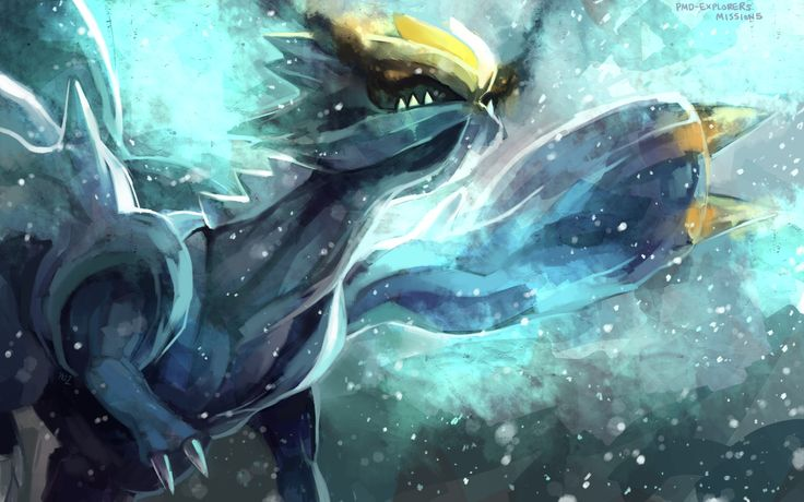 Pokemon dragon kyurem purple kecleon wings yellow eyes