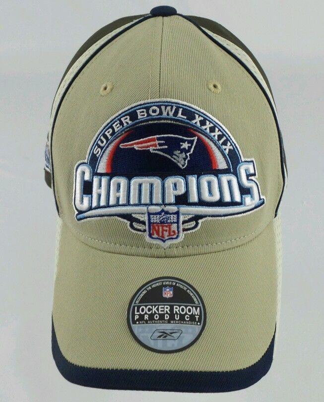 456f9cf8 Super Bowl 49 XLIX Champion New England Patriots Locker Room Hat Cap ...