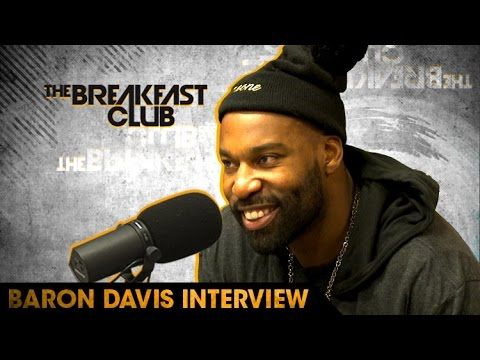 NBA All Star Baron Davis Talks Giving Back to The Community With His Bla...