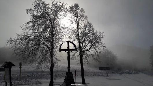 Przydrożny krzyż #Pieniny
