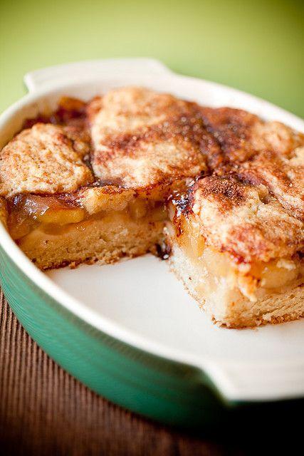 Vegan Apple Pie Coffee Cake - Vegan