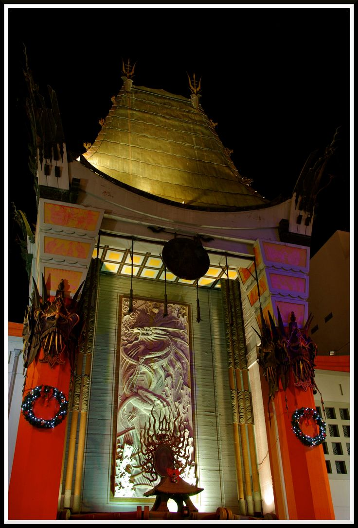 Grauman's Chinese Theater in LA