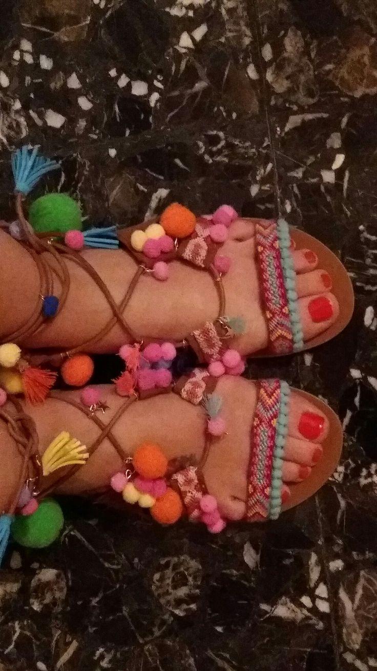 Sandalias romanas verano 2016
